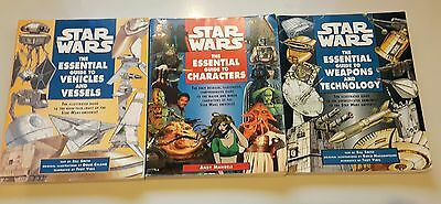 Star Wars The Essential Guide To *3 Book Collection*