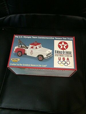 Texaco - Matchbox - U.s. Olympic Team Commemorative Tow Truck - Nib