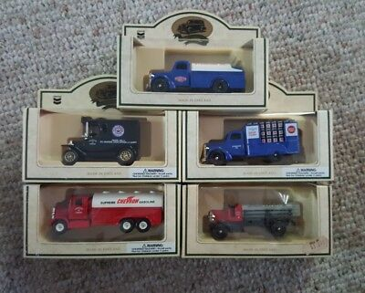 Chevron Lledo Made In England Toy Trucks