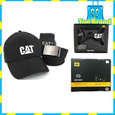 New Caterpillar Cat promo Gift Pack Cap Belt Socks p1490045 Dad Limited edition