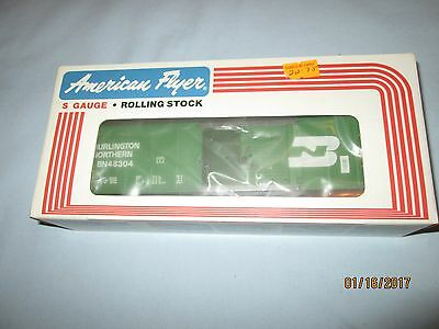 American Flyer #6-48304 Burlington Northern Box Car. New in Box