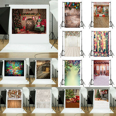 Photo Backdrops 3x5ft Vinyl Beautiful Christmas Drawing Photography Backgrounds