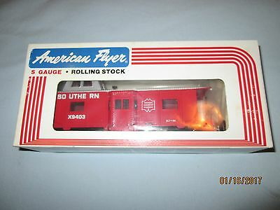 American Flyer  #4-9403 Southern Illuminated Caboose w/Original Box- NIB