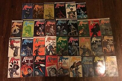THE AVENGER Kenneth Robeson Lot Of 55 PB Books - Near Complete Set