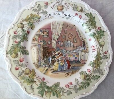 "Royal Doulton Brambly Hedge ""Old Oak Palace"" Plate.Made in England."