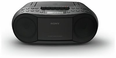 Sony CFD-S70 CD and Cassette Boombox Player – Black FM AM radio Cd Faulty