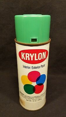 Vintage Krylon Safety Green Spray Paint Can #2012
