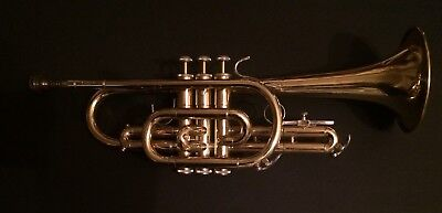 Bach Cr300 Cornet With 5B Mouth Piece & Hard Case