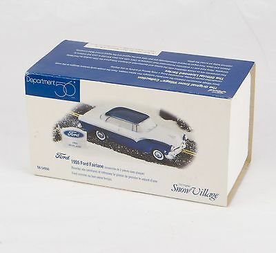 "Department 56 ""1955 Ford Fairlane"" Snow Village #56.54950 *new*"