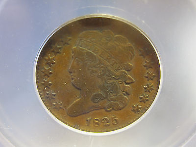 1825 Classic Head Half Cent VF (1825 1/2 C Better Date)