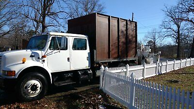 1995 international 4900 chipper truck