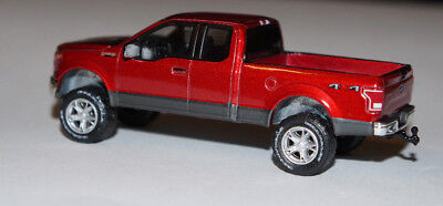 Lifted 2015 F150 >> Custom Lifted 2015 Ford F 150 Truck Pickup 4x4 1 64 Dcp Diecast