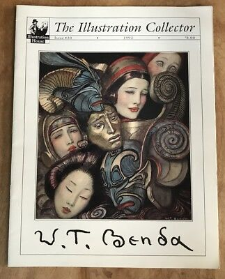 ILLUSTRATION HOUSE COLLECTOR #30 W.T. BENDA 1993 w/Prices Realized FN+