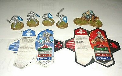 Heroscape Wave 2 Knights & The Swog Rider