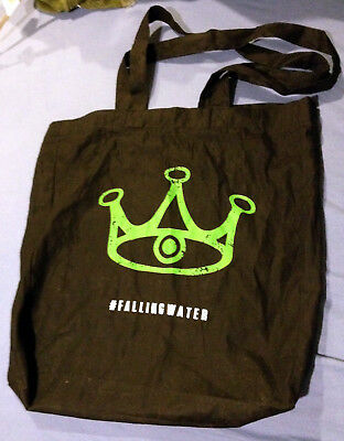 FALLING WATER NEW YORK COMIC CON PROMO TOTE BAG Lizzie Brochere David Ajala NYCC