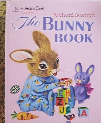 A Little Golden Book,  Richard Scarry's The Bunny Book,  VG~H/C FAST~N~FREE POST