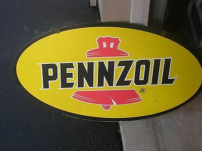 Pennzoil Gas Oil Sign