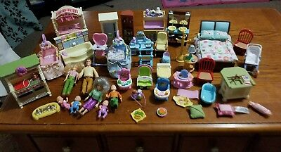 Fisher Price Loving Family Furniture Lot