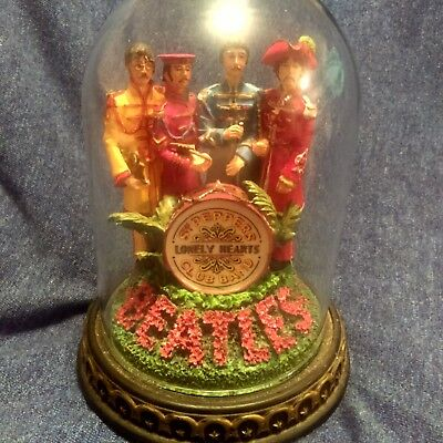 Franklin Mint Musical Beatles Rare Sgt. Peppers Lonely Hearts Club Band
