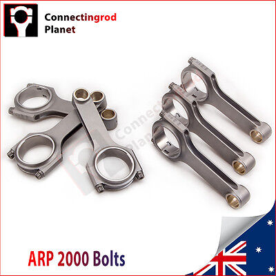 Conrods For Nissan RB26 RB25DET RB26DET 121.5mm Con Rods Rod + ARP Bolts 800hp