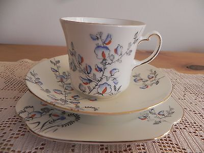 Vintage Colclough China Longton English Trio