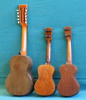 Vintage Regal or Lyon & Healy Ukulele and Tiple for Repair