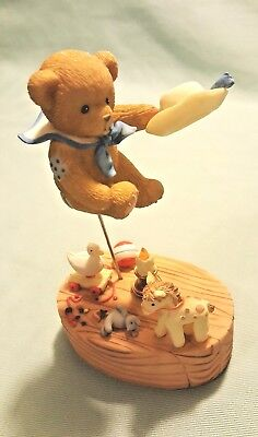 Cherished Teddies Finlay -No One Holds a Candle to Jack 4012279 Candle Lights up