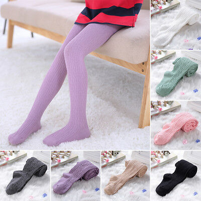 Baby Girls Kids Autumn Cotton Warm Tights Socks Stocking Pants Hosiery Pantyhose