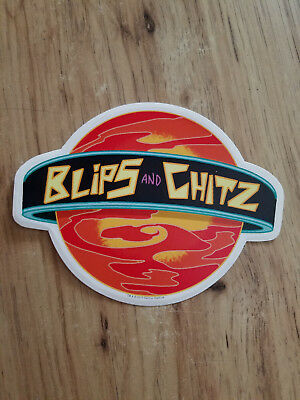 Rick And Morty TV Cartoon Blips And Chitz Sticker