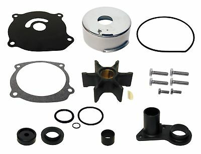 Water Pump Impeller Kit for Evinrude Johnson 85 88 90 110 112 115 HP V4 Outboard