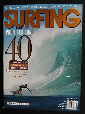 Surfing Magazine **uncirculated** New 1992 May Vol.28 #5  Hawaii Surfer