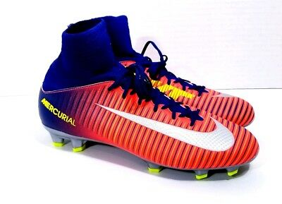 reputable site d2e74 e7004 New NIKE JR MERCURIAL SUPERFLY V FG Youth Sz 4.5Y Soccer Cleats 831943-409