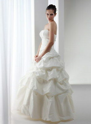 Knightly Wedding Dress Size 14-16 Ball Gown White RRP $1300