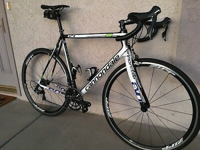 Cannondale Supersix Evo, 58cm, ZIPP Wheels, Hollowgram Spidering, Ultegra 6800