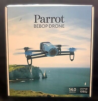 Parrot Bebop Drone (Blue) Quadcopter With 14MP Full HD 1080p Camera - Brand New!