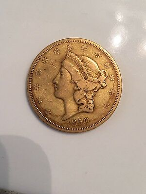 1850 O $20 XF Rare New Orleans Gold Double Eagle Pre Civil War Affordable Grade