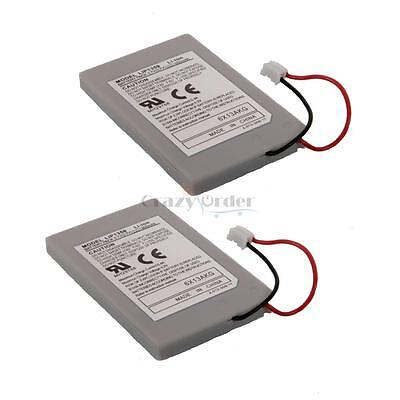 2X 1800mAh Rechargeable Battery for Sony PlayStation PS3 Controller ES