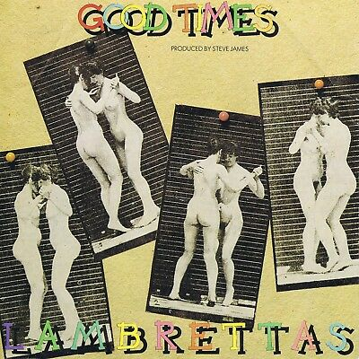 The Lambrettas 1981 Mod Revival Uk 45 - Good Times C/w Pic Sleeve