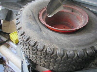 KUBOTA B3350 TRACTOR TYRES RIMS WHEELS rear 315/75d/15
