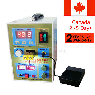 LED Double-Pulse Spot Welder 18650 Battery Charger 800A 0.1-0.2 mm Good Quality