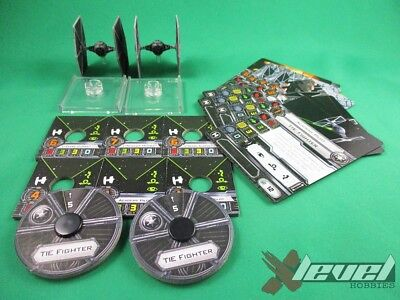 TIE Fighters [Core Set] No Stands [x1] Galactic Empire [X-Wing Miniatures Gam...