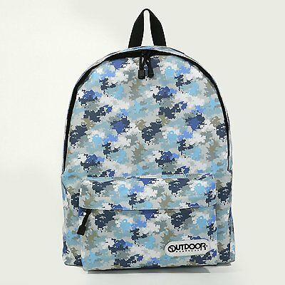 Digimon Adventure tri. × OUTDOOR PRODUCTS Backpack Camouflage Rare! f/s Japan