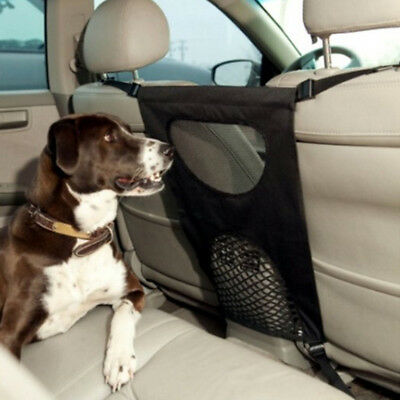 Pet Barrier Blocks Dogs Access To Car Front Seats & Keep Dogs In Back Seat Pop