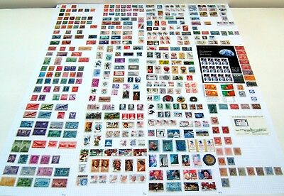 Collection Of 460 American Stamps Post 1903