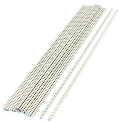 FP 20PCS 170mm x 2mm Stainless Steel Round Rod Axle Bars for RC Toys