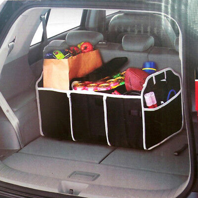 Car Trunk Folding Collapsible Organizer Home Toys Storage Container Bags Box Top