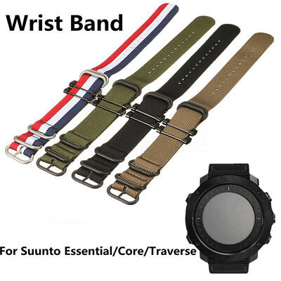 Strap Bracelet Replacement Nylon Wrist Band For Suunto Essential/Core/