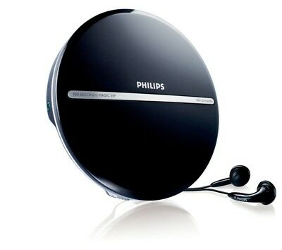 Philips EXP2546/12 Portable MP3-CD Player with Headphones (10 Hours of Music/CD/