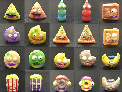 The Grossery Gang Series 1 Pizza Donut Croissant Waffle Cookie Cracker Corn