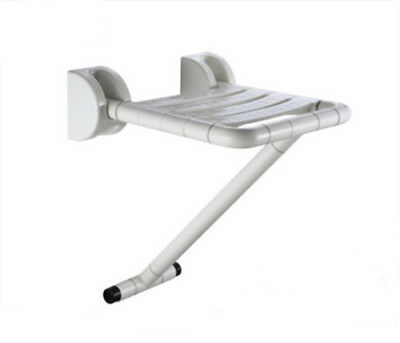 Stainless Steel Bathroom Shower Wall Safety Support Seat Collapsible Handrail